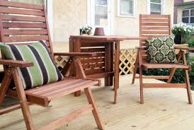wooden small balcony furniture with pillows small outdoor wooden table alexandria balcony set high quality patio furniture