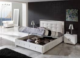 x contemporary bedroom benches: white distressed bedroom furniture storage bench and bookcase cupboards and completed white cotton master bedding setc bed and wall desk coupled white