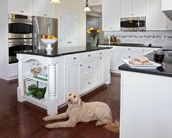 Small Picture Kitchen White Island Gray Countertop AIRMAXTN