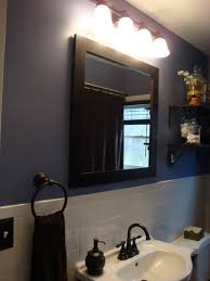 interesting bathroom mirrors lowes enlightened by wall lamp created at small space of bathroom captivating bathroom vanity twin sink enlightened