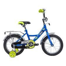 Детский <b>велосипед Novatrack 14 URBAN</b>, синий — купить в ...