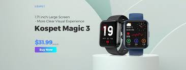 <b>Kospet Magic 3</b> Smartwatch Global Launch with Best Price, Buy Now
