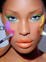 Image result for black make up lady