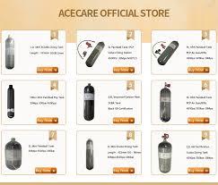 <b>Acecare</b> Scuba <b>Pcp</b> 2L/3L/6.8L CE 4500spi <b>Pcp</b>/Air <b>Paintball</b> Tank ...