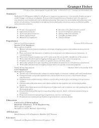 resume resumer example printable resumer example full size