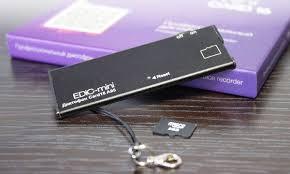 Купить <b>диктофон</b> цифровой <b>Edic</b>-<b>mini Card 16 A95</b>