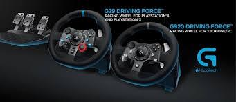 ᐈ <b>Logitech</b> G представляет <b>руль G29</b> для PS4 и PS3 и <b>G920</b> для ...