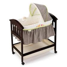 summer infant fox and friends classic comfort wood bassinet baby furniture for less