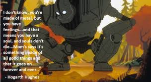 The Iron Giant Feels via Relatably.com