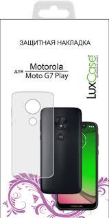 Купить <b>Клип</b>-<b>кейс</b> LuxCase для <b>Motorola Moto</b> G7 Play Transparent ...
