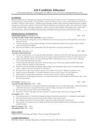 accounts payable resume sample experience resumes gallery of accounts payable resume sample