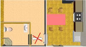 feng shui tips for kitchen door face toilet door bedroom face kitchen bad feng shui