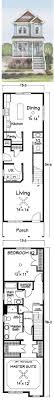 ideas about Narrow House on Pinterest   Narrow House Plans    This charming  narrow lot friendly  Garden City plan provied large house square footage in