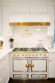 kitchen hood brass