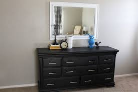white painted dresser ideas full had a black frame so i sprayed painted it white wanted black painted furniture ideas