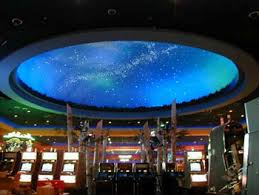 northern lights casino ceiling accent lighting