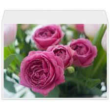 """Конверт большой С4 """"<b>Розовые розы</b>"""" #2671960 от d_ari.design ..."""