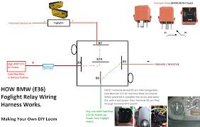 1993 e36 318i wiring independent foglights power need help to cut things short i understand to rewire the foglights to work independently i will need a relay a few fuses butt connectors wire crimp spade