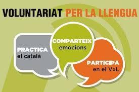 Resultat d'imatges de voluntariat per la llengua