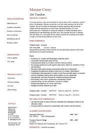 art teacher resume example  template sample  teaching  design  job    art teacher resume example  template sample  teaching  design  job description  school