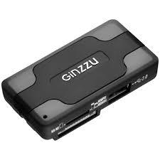 Внешний <b>картридер</b> USB2.0 <b>GR</b>-<b>417UB GiNZZU</b>