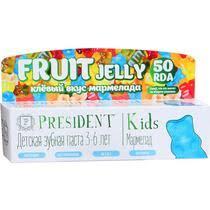 <b>Зубная паста</b> President Kids Fruit Jelly Мармелад для детей <b>3-6</b> лет