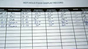 food safety and hygiene training level course ihasco screenshot hot hold food record keeping as part of food health and safety