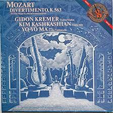 Wolfgang Amadeus <b>Mozart</b> , <b>Gidon Kremer</b> , Kim Kashkashian , Yo ...