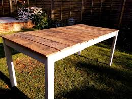 wooden tables tables and mismatched chairs on pinterest build your own wood furniture