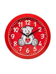 <b>Часы</b> настенные <b>Мишка</b> с сердцем Lekko 7545700 в интернет ...
