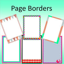 word document borders clipart best