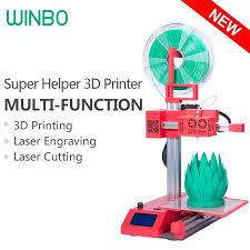 <b>Super Helper</b> SH155L Multi-function(3 in 1) 3D Printer, Laser Engraver