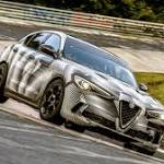 Alfa Romeo Now Holds Four-door Sedan, and SUV Lap Records at Nurburgring