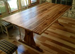 Hickory Dining Room Table Benches Dining Room Tables And Rustic On Pinterest