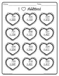 Print these free 3 Digit Addition Worksheetsfor use at home or in ...Print these free 3 Digit Addition Worksheetsfor use at home or in school, Solve these addition problems with 3-digit addends. 3 Digit Addition Work…