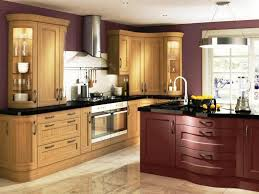 wall color ideas oak:  oak kitchen cabinets and wall color ideas