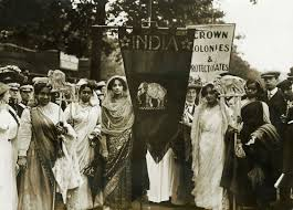 asian suffragettes women who made a difference fwsa blog photograph of n suffragettes on the women s coronation proc