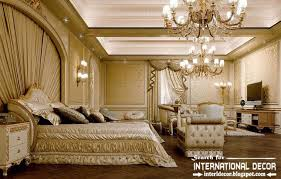 luxurious bedroom interior design and furniture in classic furniture in style
