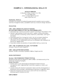 profile for resume examples  how write a resume profile basic    example of resume template