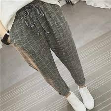 <b>Striped</b> Wide Leg Pants Side Slit High Waist Fashion <b>Sashes</b> Sexy ...
