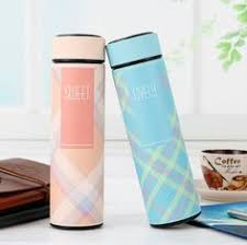 <b>Creative</b> 3 <b>Colors</b> Plastic Double Wall Coffee <b>Thermos Thermo</b> cup ...