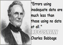 Charles Babbage Quotes. QuotesGram via Relatably.com