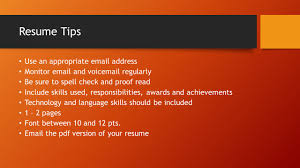 job search 101 six steps to a successful job search andrea 3 resume