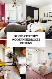 30 chic and trendy mid century modern bedroom designs bedroom design modern bedroom design