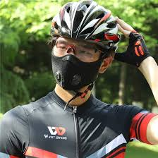 Road <b>Bike Riding</b> Dust-proof Half Face Mask <b>Activated Carbon</b> ...