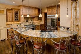 rustic kitchen bar