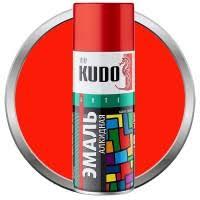<b>Эмаль аэрозольная Kudo</b> KU-1003 универсальная красная 520 мл