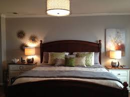 luminous bedroom overhead lighting enlightening the fanciful bedroom nuance artistic flower wall painting in old bed lighting fabulous