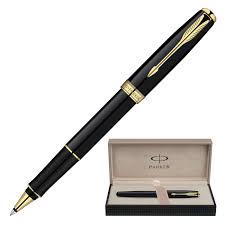 "<b>Ручка</b>-<b>роллер</b> подарочная <b>PARKER</b> ""Sonnet Black Lacquer GT ..."