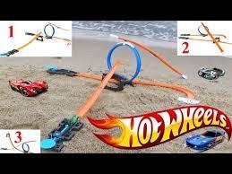 Хот Вилс с трассами и машинкой распаковка игрушки / <b>Hot</b> ...